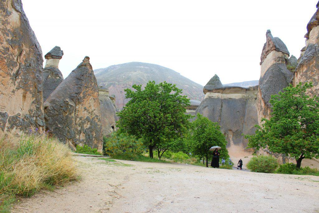 Cappadocia, Turkey, Chimney Valley