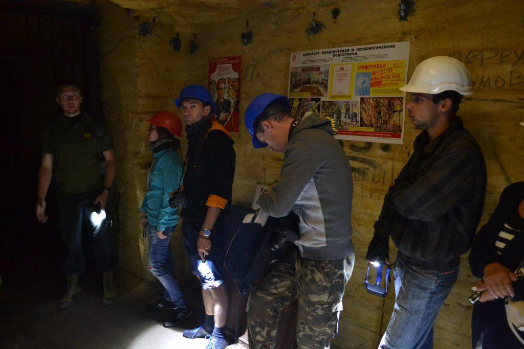 Odessa, catacombs
