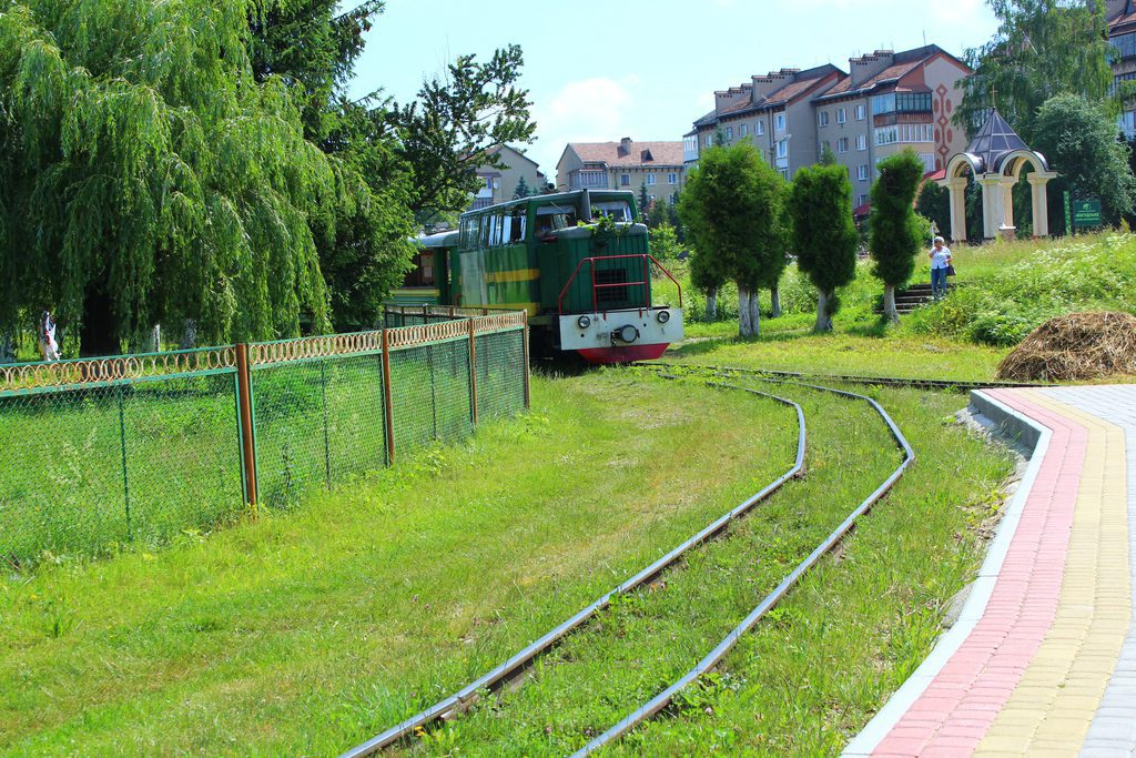 Carpathian narrow-gauge tramway