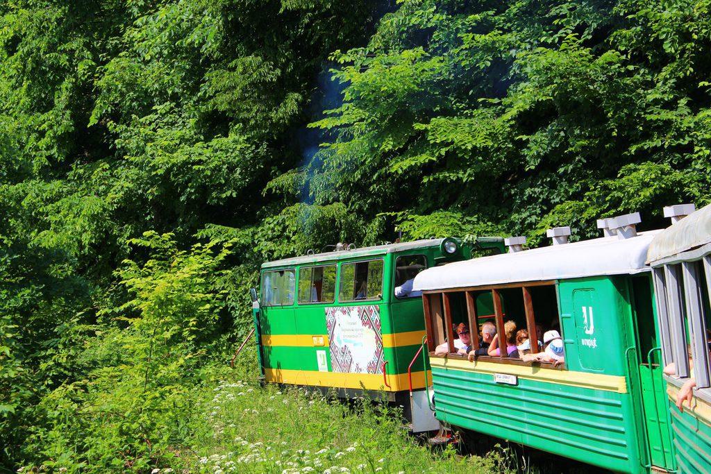 Выгода, Ивано-Франковская область, Украина, Карпатский трамвай