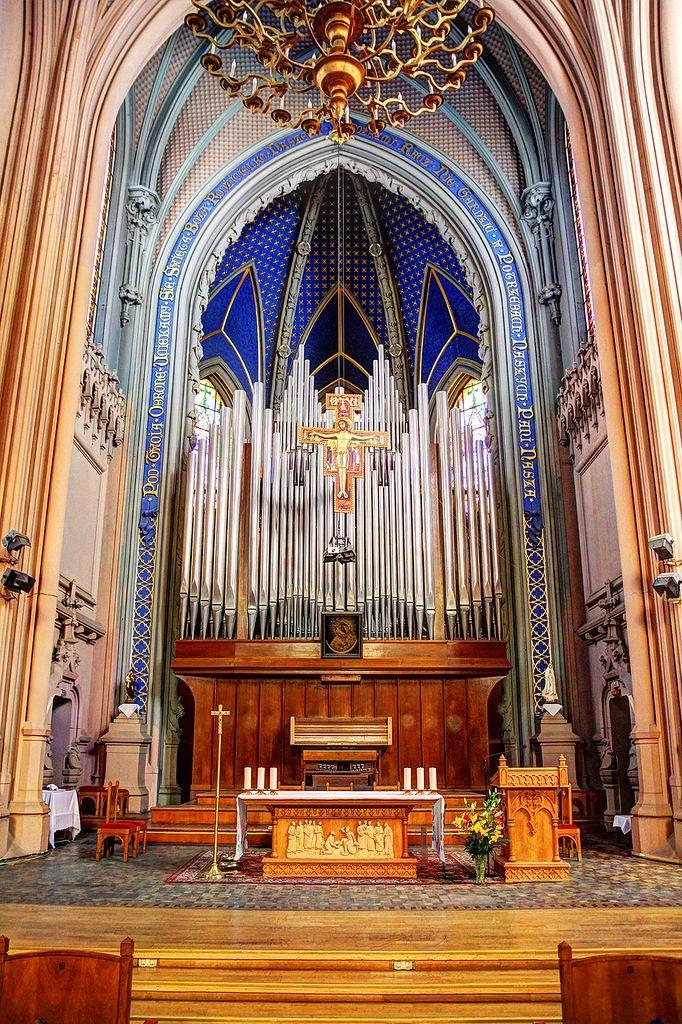 Organ hall, Saint Nicolas Church, Kiev