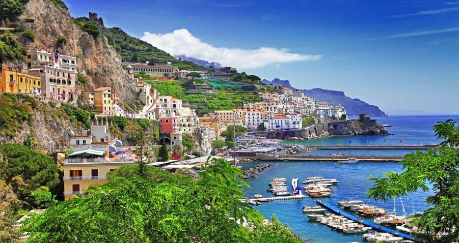 Италия, Амальфитанское побережье