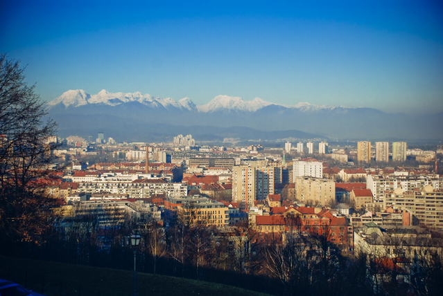 The capital of Slovenia