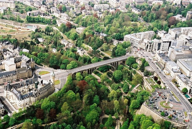 The capital of Luxembourg