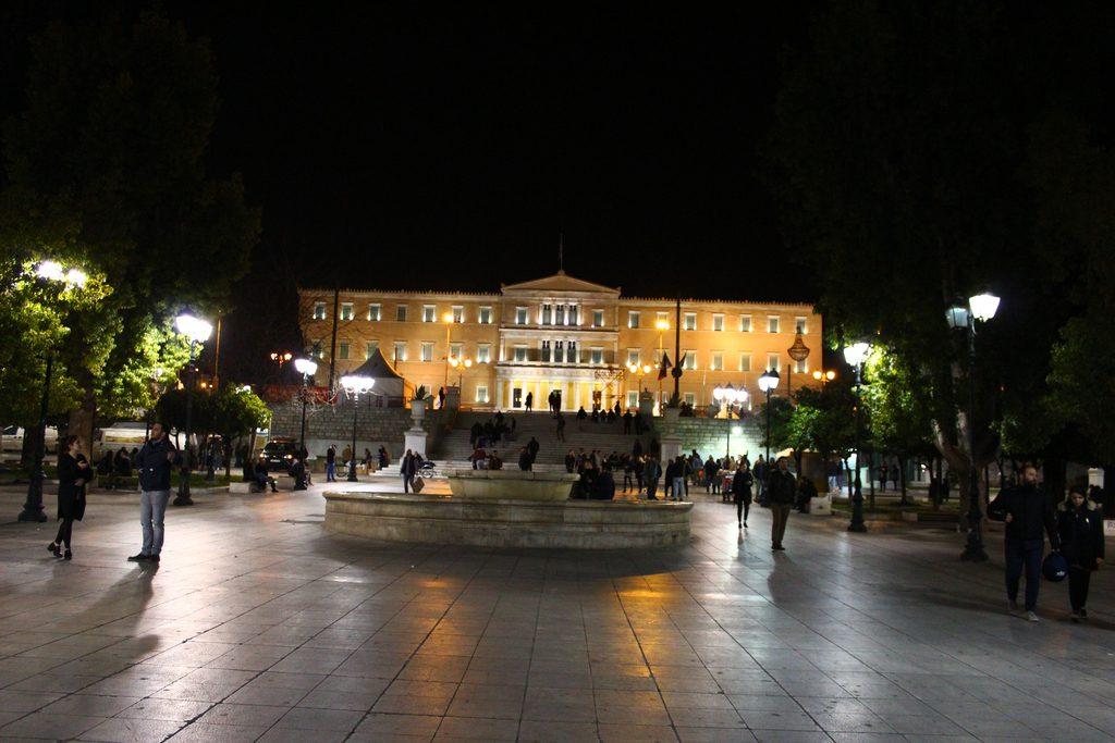 Афины, площадь Синтагма