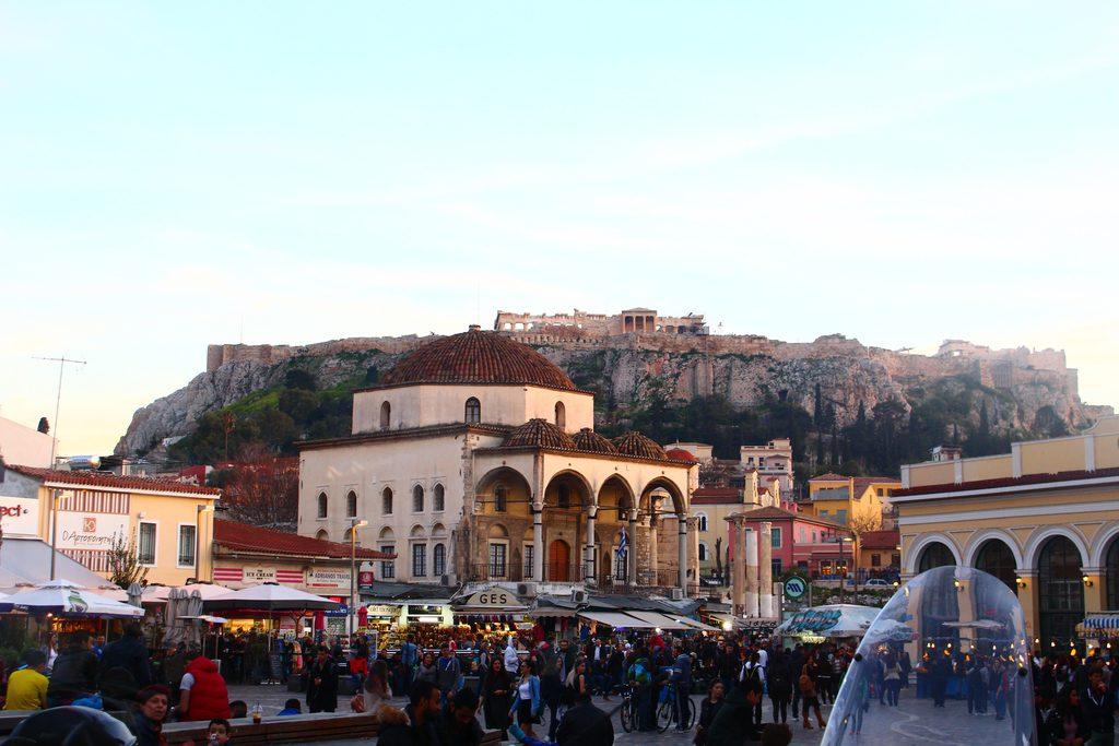Афины, площадь Монастераки