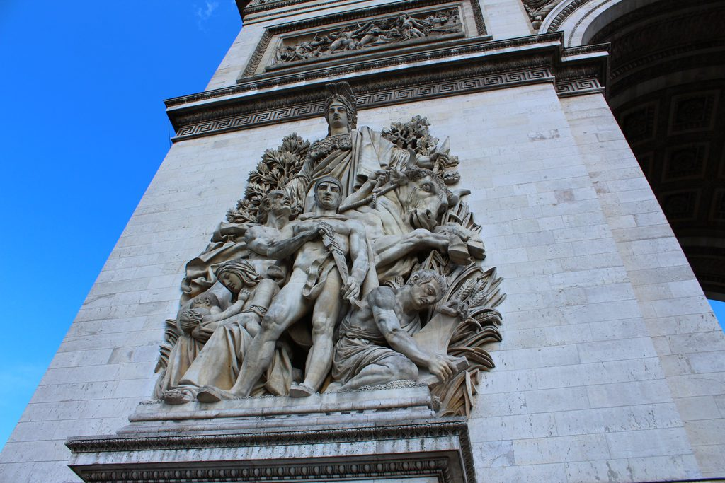 Париж_Триумфальная арка