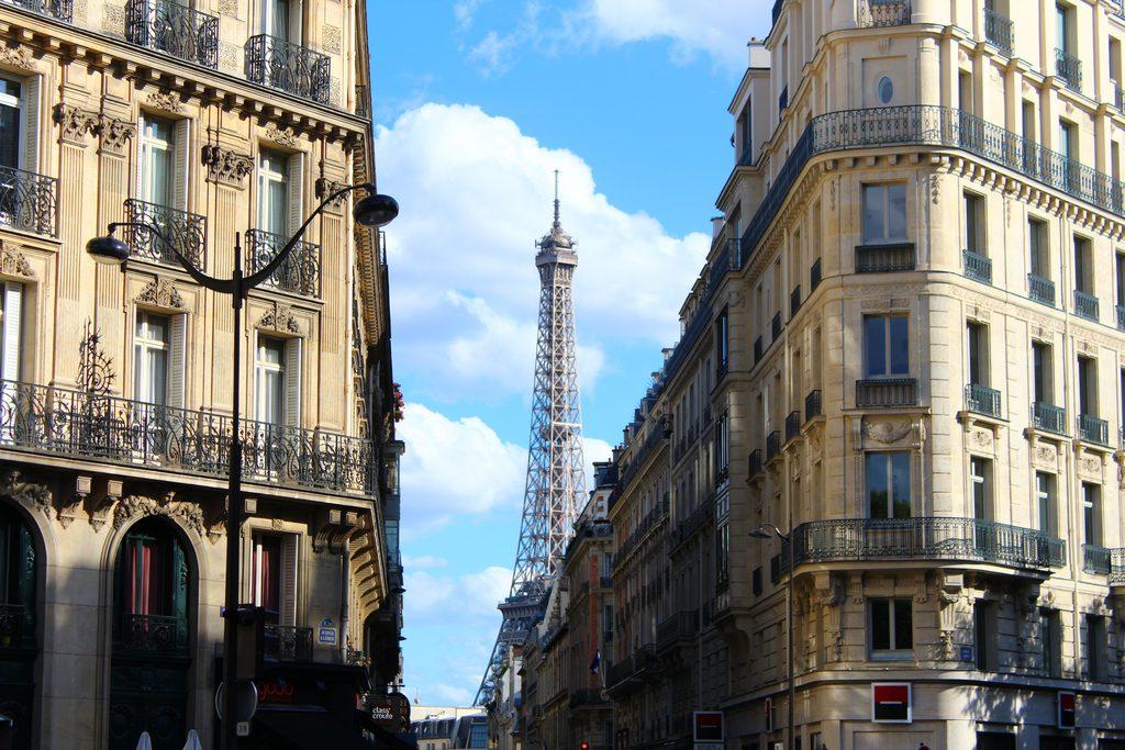 Париж_Елисейские поля