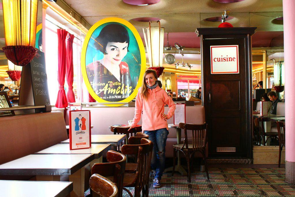 Кафе двух мельниц, из фильма Амели, Париж
