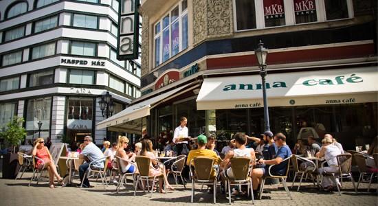 Будапешт, Anna Cafe