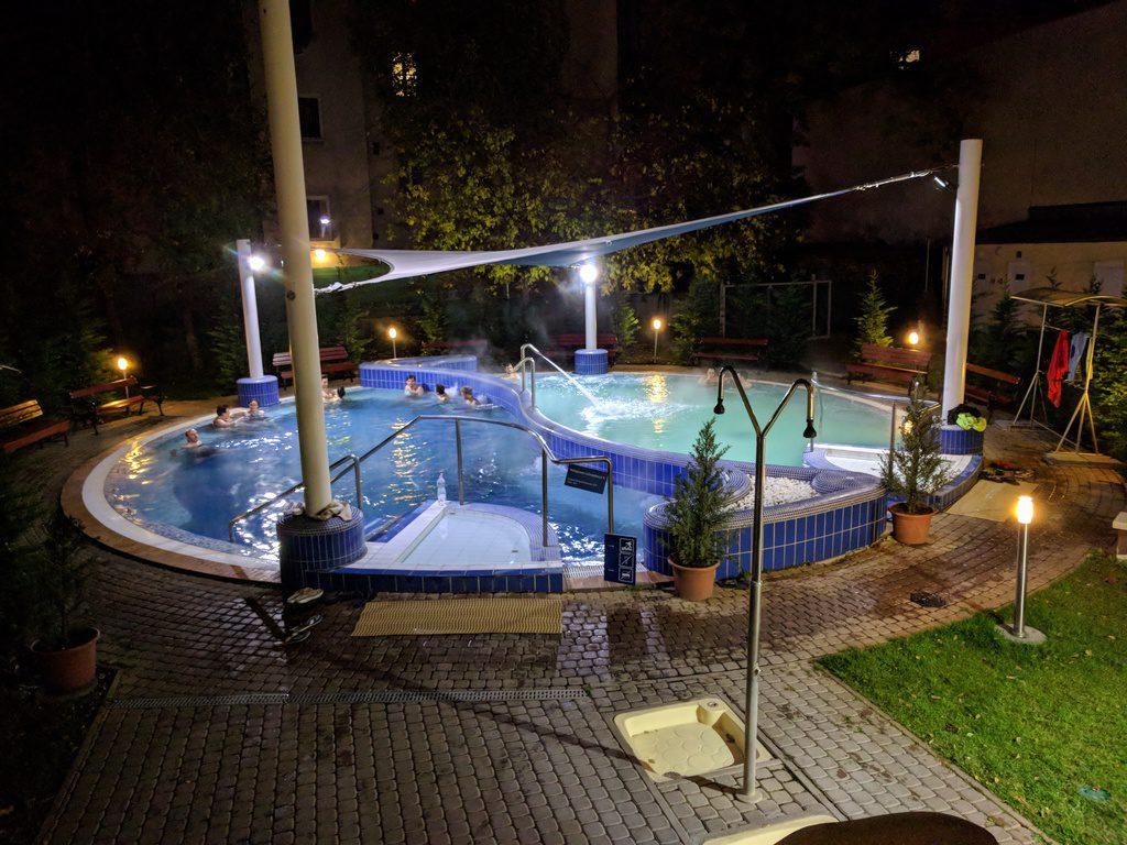 Будапешт, купальня Дандар