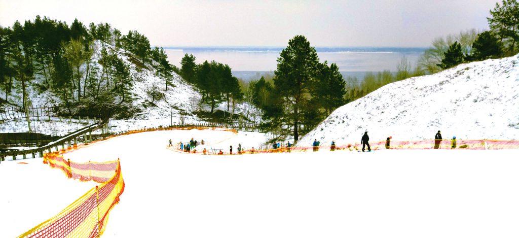 Вышгора - лыжный комплекс возле Киева, Вышгород, Киевская область