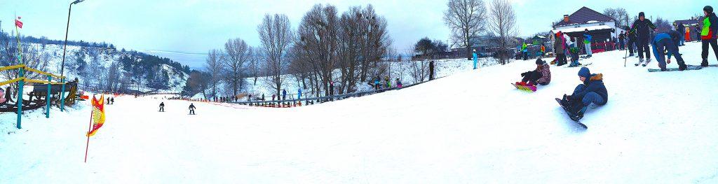 Вышгора, лыжный комплекс возле Киева, Вышгород, Украина