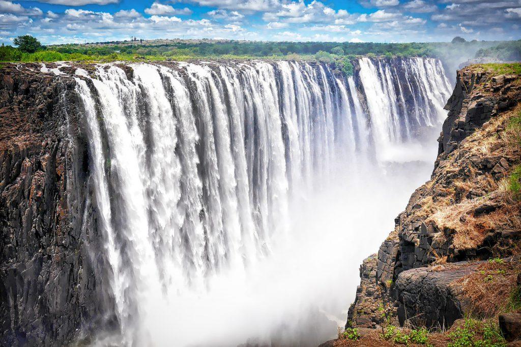 Замбия, водопад Виктория