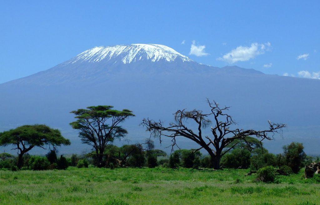 Танзания, гора Килиманджаро