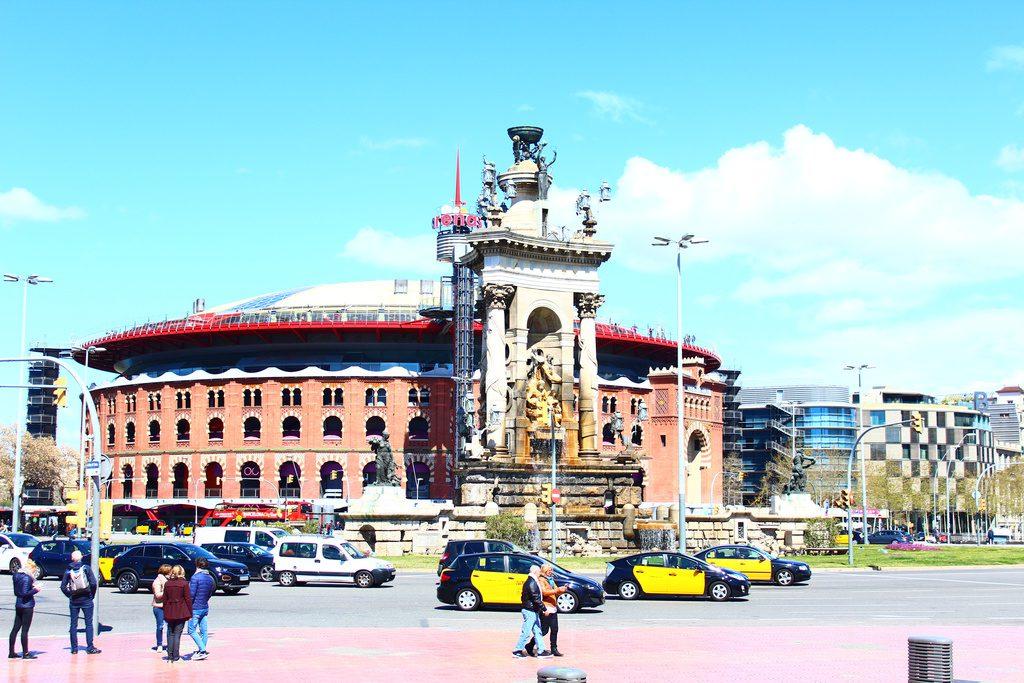 Барселона, площадь Испании (Place d'Espanya)