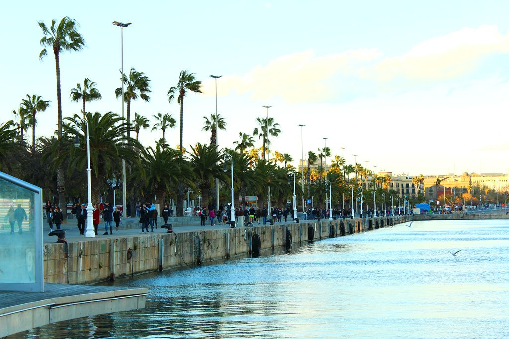 Барселона, морской порт