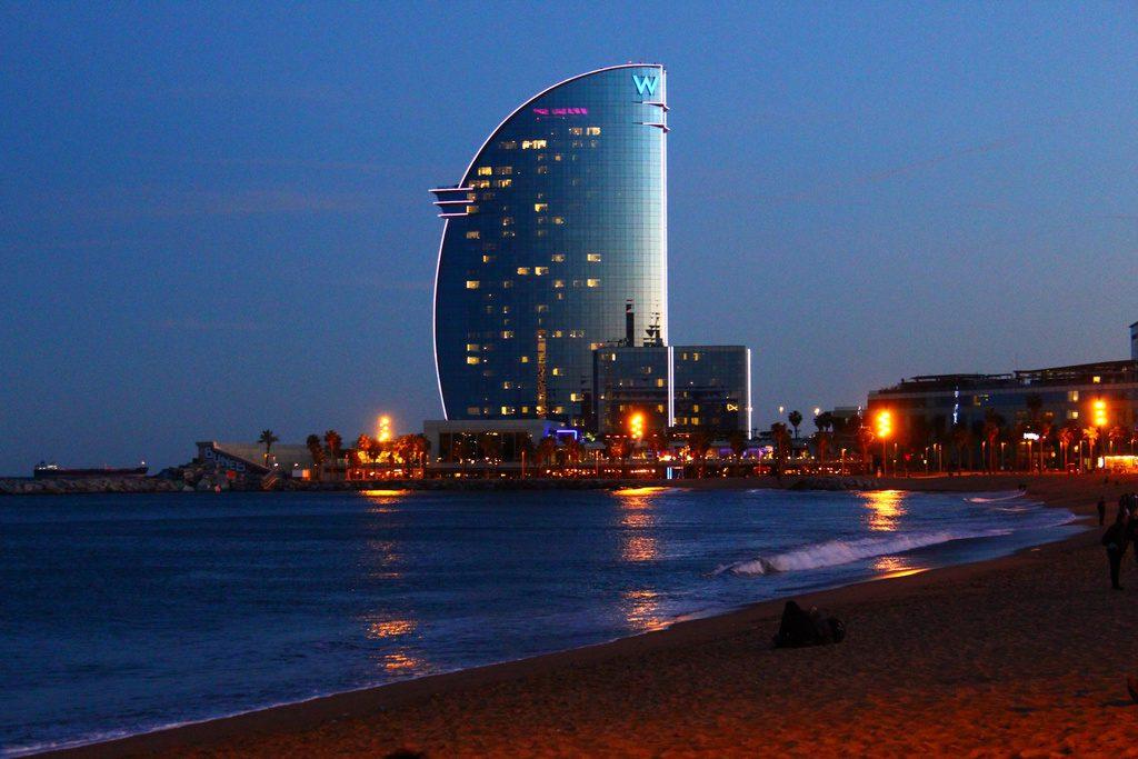 Барселона, отель W