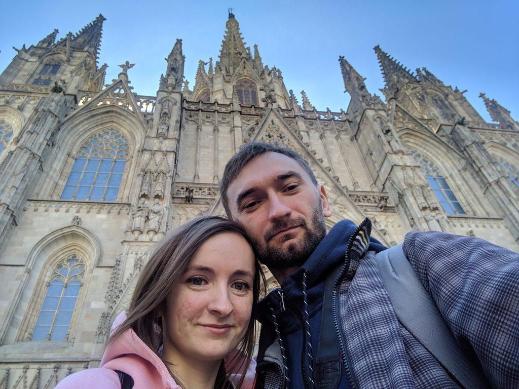 Барселона, Испания, Кафедральный Собор