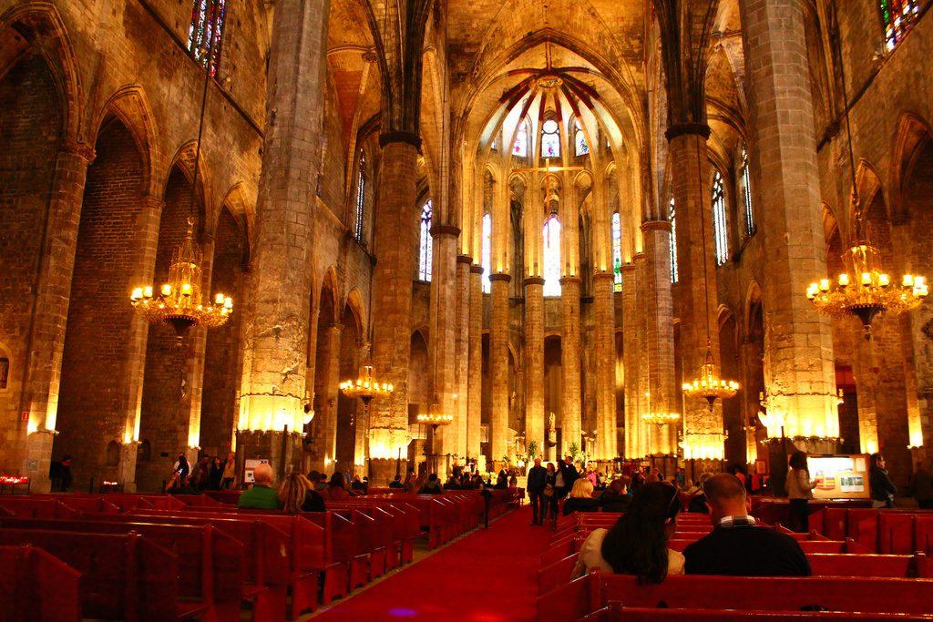 Базилика Санта Мария дель Мар, Барселона, Испания