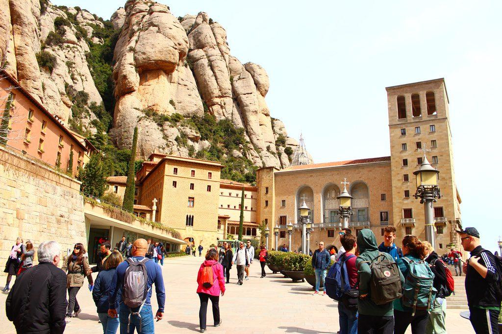 Монастырь Монсеррат, Испания