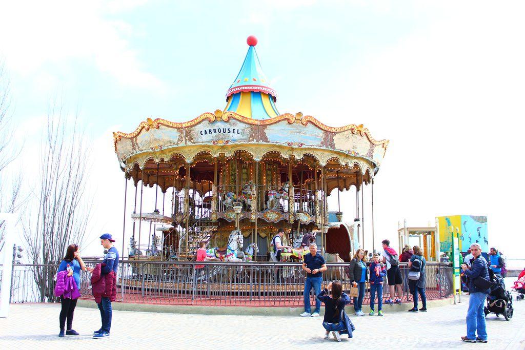 Барселона, парк Тибидабо