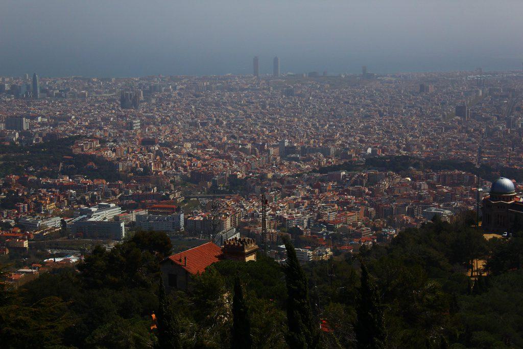 Барселона, Парк аттракционов Тибидабо