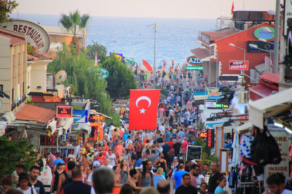 Олюдениз, Турция