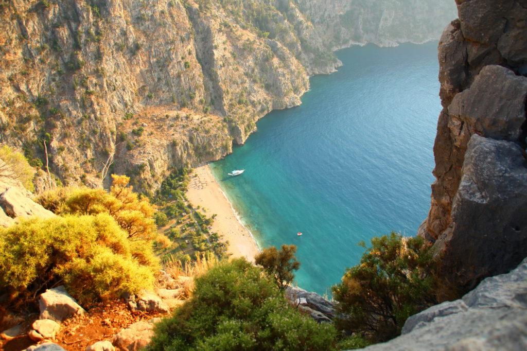 Turkey, Oludeniz, Fethiye, Butterfly Valley