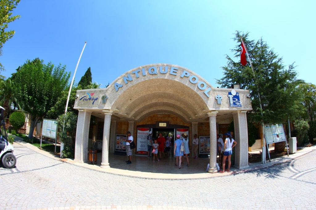 Турция, Памуккале, бассейны Клеопатры