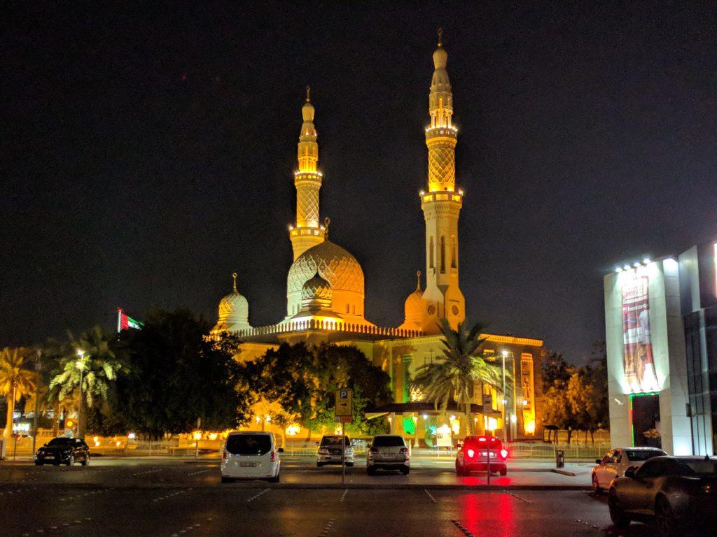 Дубай, мечеть Джумейра