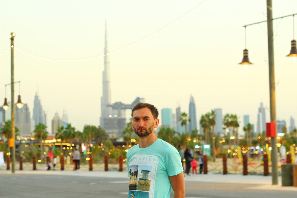 Dubai, La Mer beach