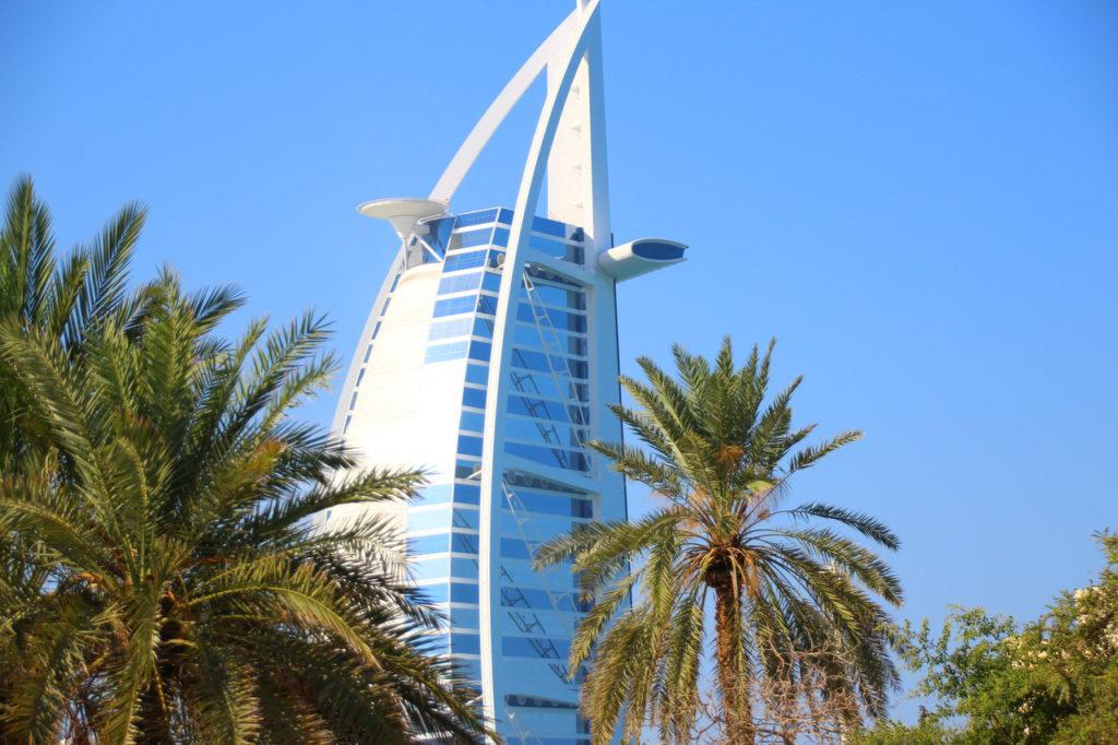 Дубай, отель Burj el Arab