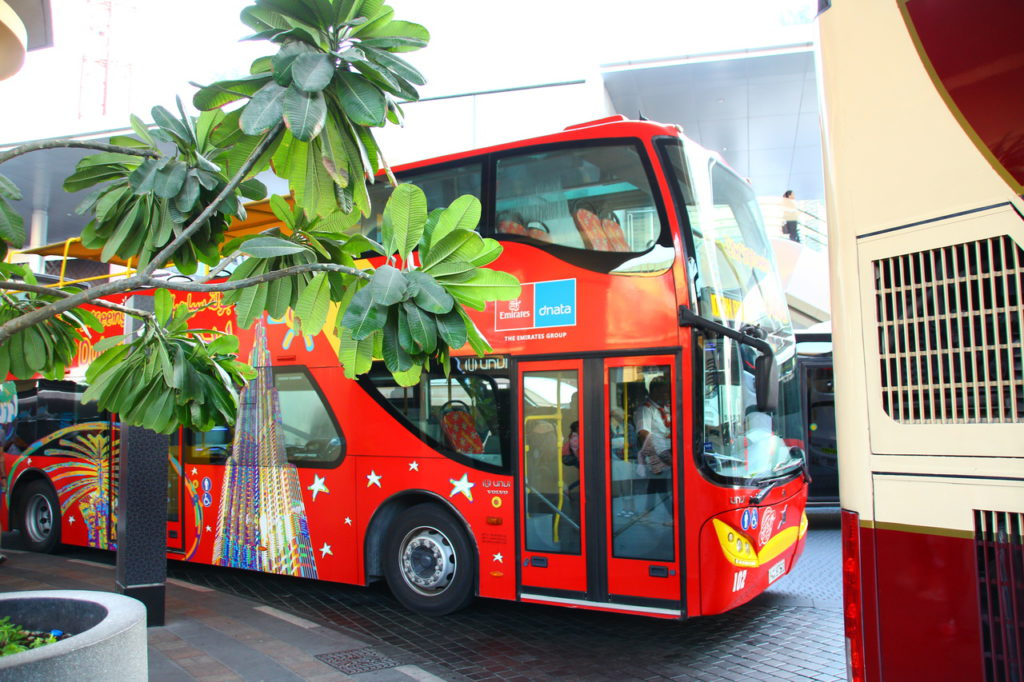 Dubai, City Sightseeing Hop-On, Hop-Off