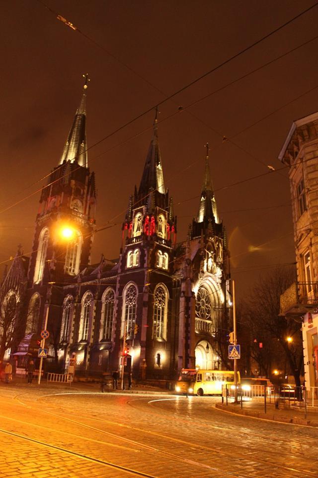 Украина, Львов, Собор Святой Ольги и Елизаветы