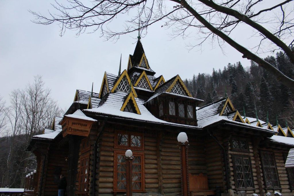Украина, Карпаты, Яремче, ресторан