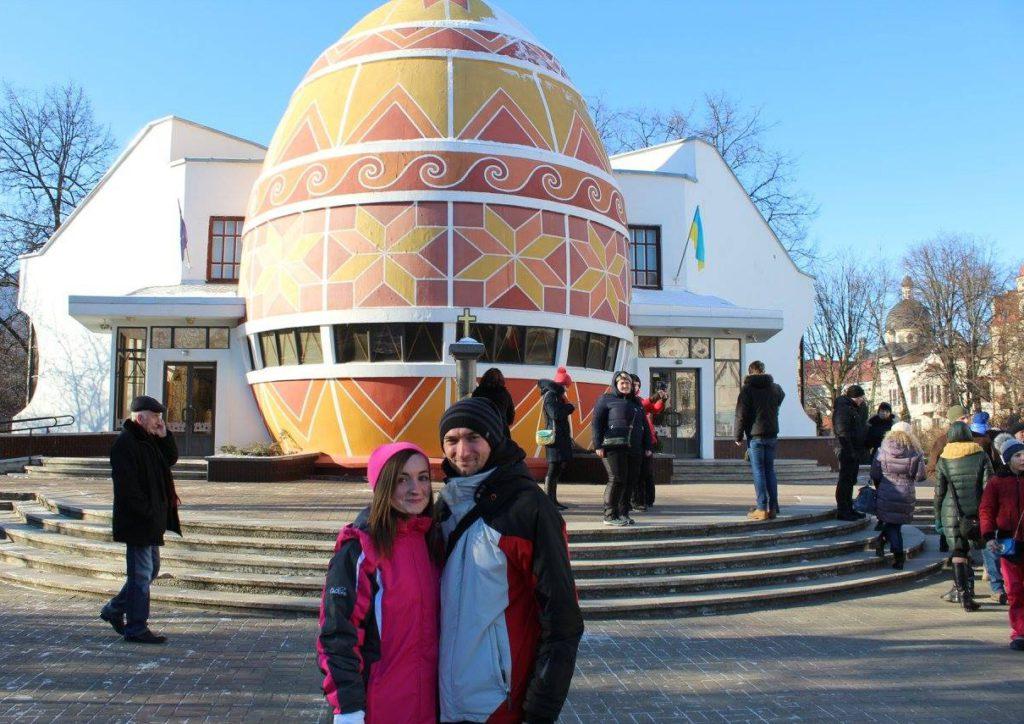 Украина, Коломыя, музей пысанки