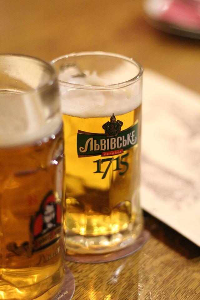 Украина, Львов, Львовская пивоварня