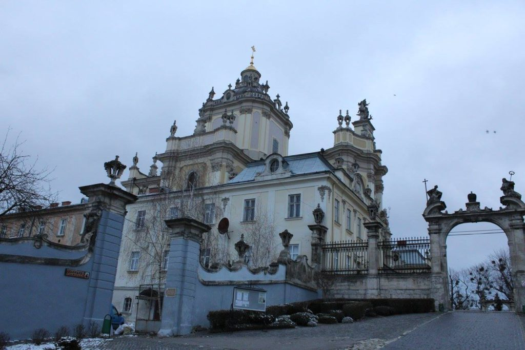 Украина, Львов, Собор Святого Юра