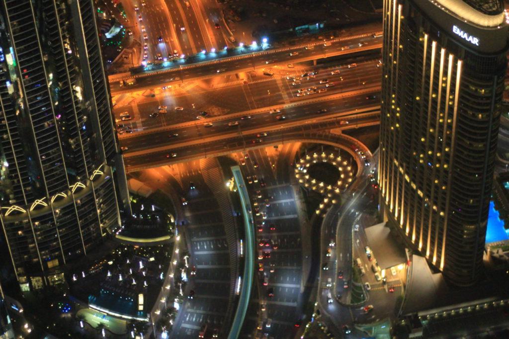 Дубай, башня Burj Khalifa