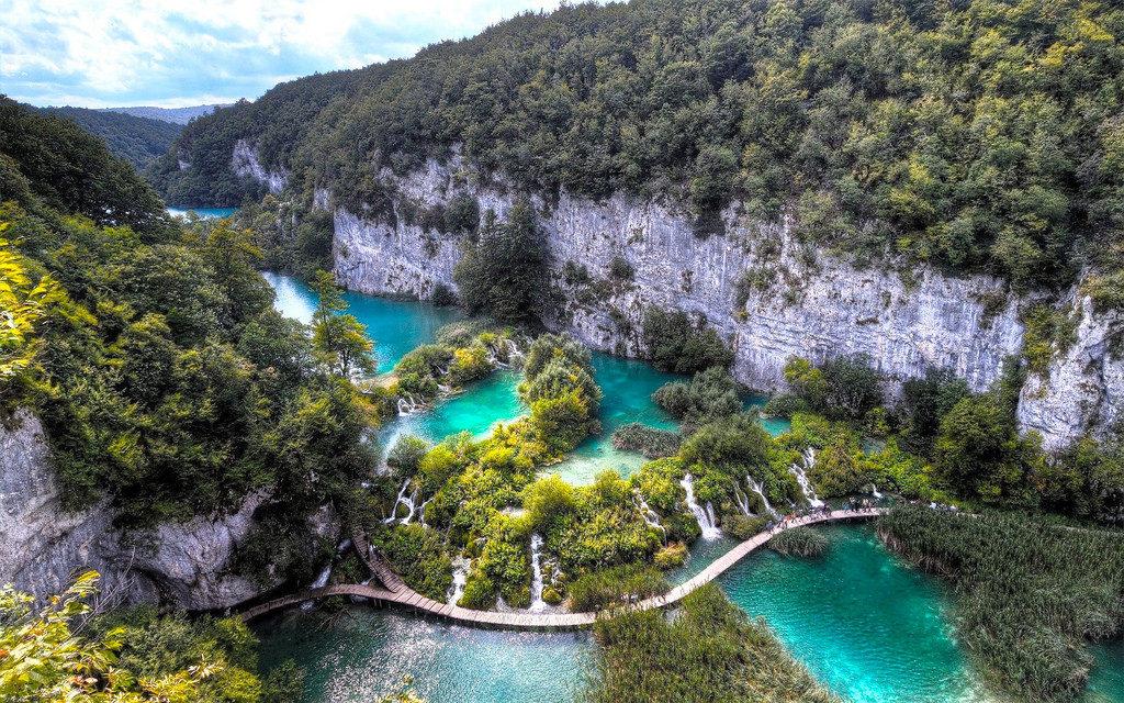 Хорватия, Плитвицкие озёра