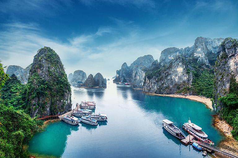 Вьетнам, бухта Ха-Лонг
