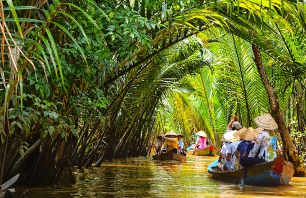 Вьетнам, Хошимин, река Меконг