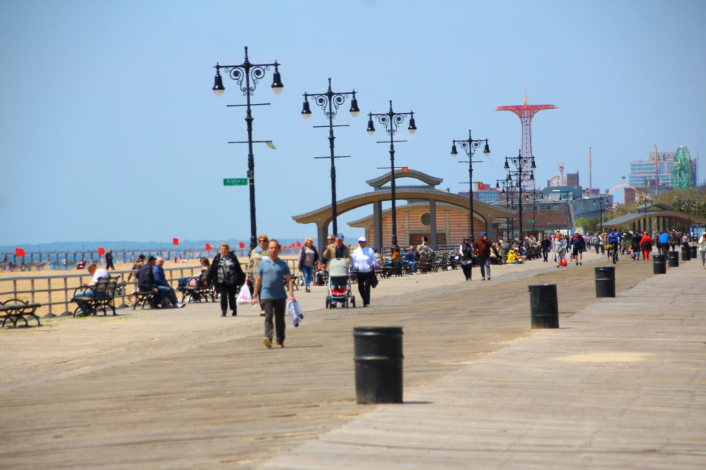 New York, USA, Coney Island, Brighton Beach