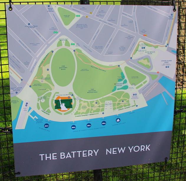 США, Нью-Йорк, Беттери Парк