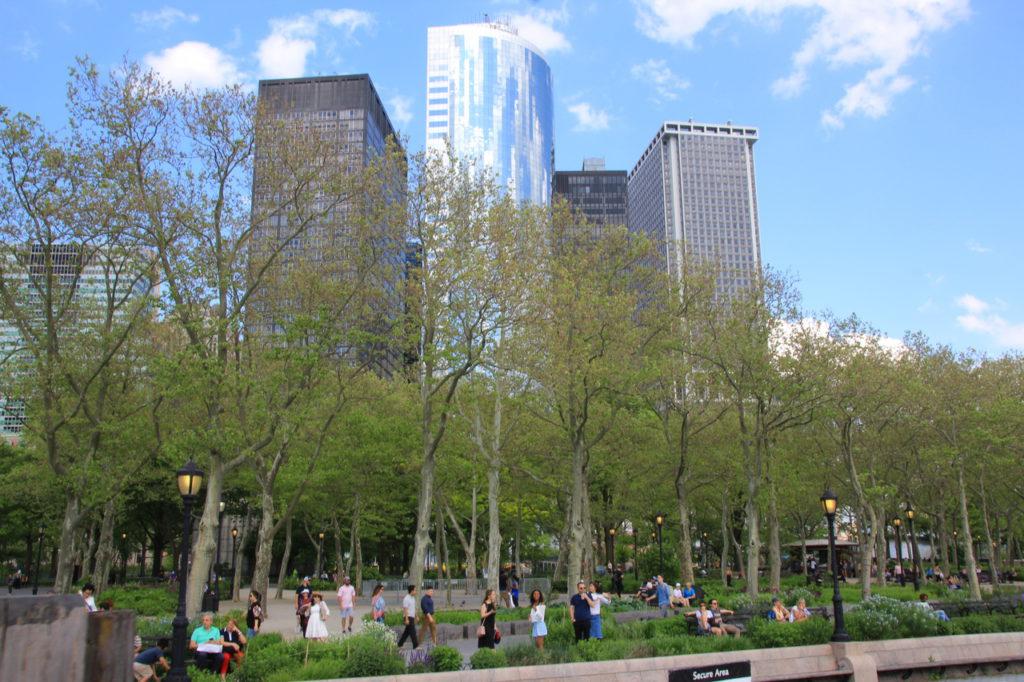 США, Нью-Йорк, Бэттери Парк