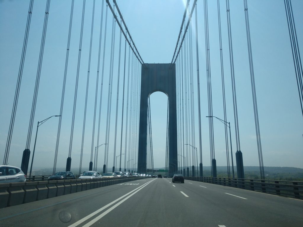 New York, USA, Staten Island, Verazzano Bridge