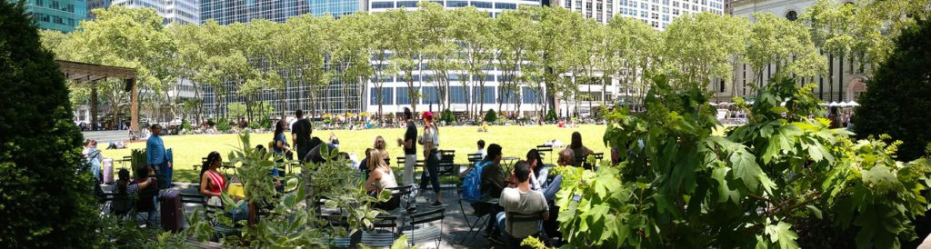 USA, New York, Manhattan, Bryant Park
