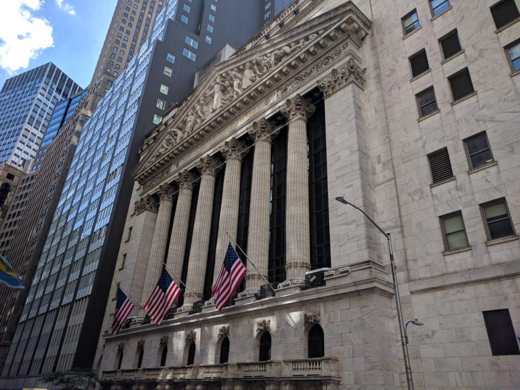 США, Нью-Йорк, Нью-Йоркська фондова біржа