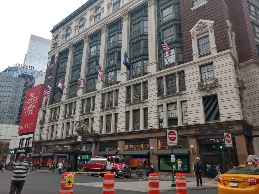 resize-США, Нью-Йорк, Macy's торговый центр